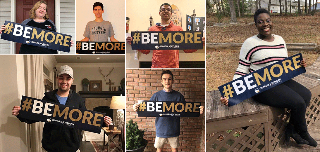 #BeMore Accepted student shots