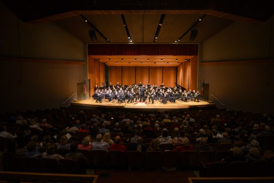 Concert in Fine Arts Hall