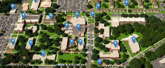 armstrong campus map