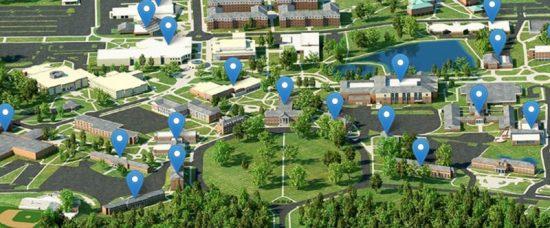 statesboro campus map
